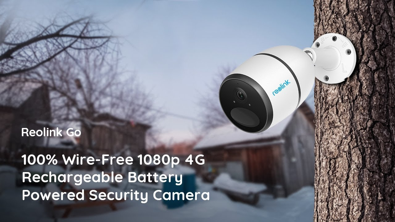 Battery Operated Security Camera >> Reolink Go 4G LTE Security Camera