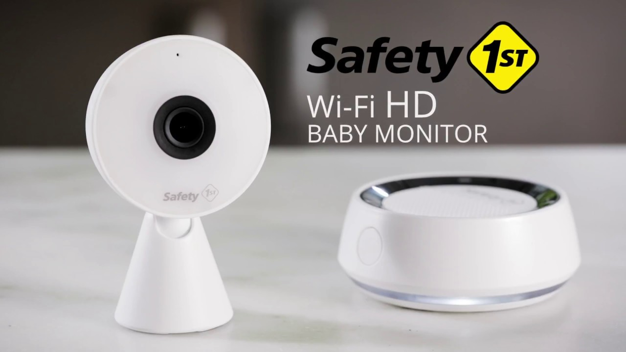 Safety 1st Wifi Baby Monitor With Audio Amp Motion Alerts