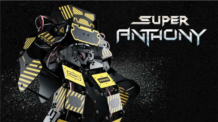 Super Anthony Battle Bot With App Control Programmable