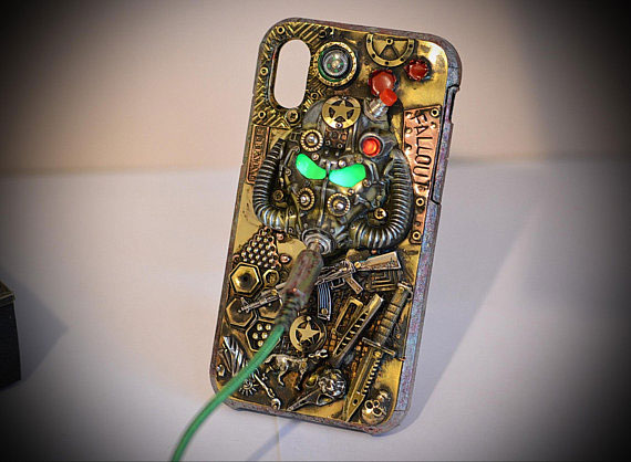 Iphone X Fallout Steampunk Case
