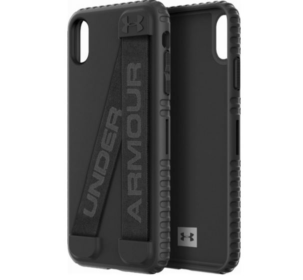 new concept 63f6b 48643 Under Armour Handle-It Case for iPhone Xs Max with Elastic Band -