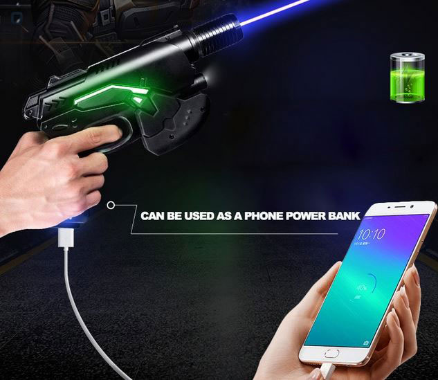 Oxlasers Focusable Burning Laser Gun Doubles As A Phone