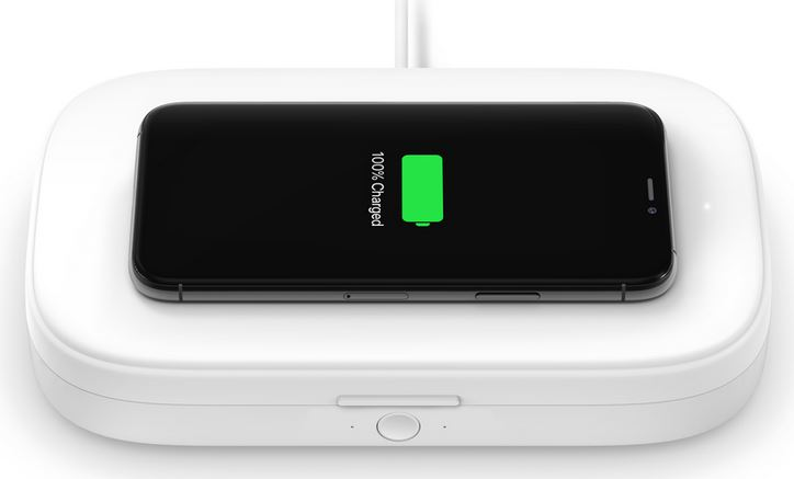 BOOST↑CHARGE UVC Sanitizer & Wireless iPhone Charger